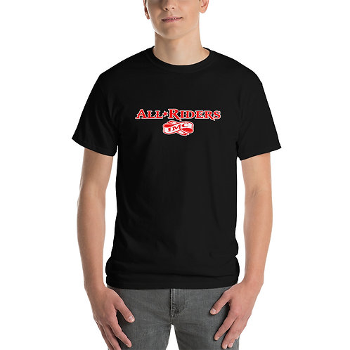 All Riders IMC Words in Red T-Shirt
