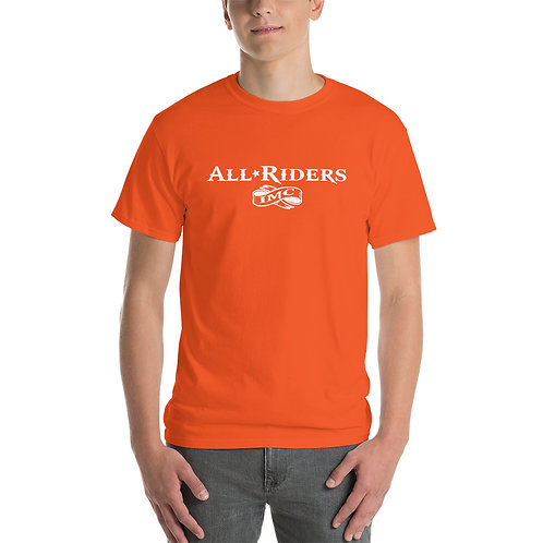 All Riders IMC Words in White T-Shirt