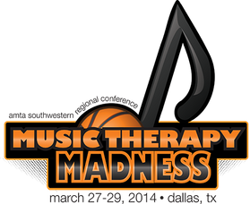 """Comissioned event logo for a """"March Madness"""" themed music conference. Created with Adobe Illustrator."""