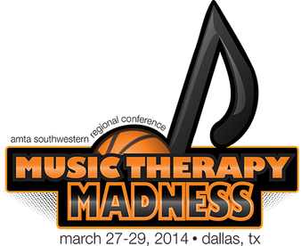 "Comissioned event logo for a ""March Madness"" themed music conference. Created with Adobe Illustrator."
