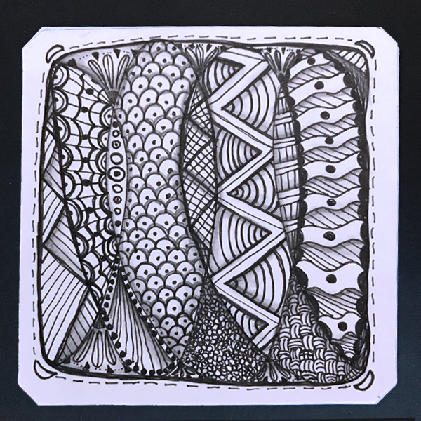 A ZenTangle Tile