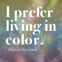 Once upon a time, I was called out on color.