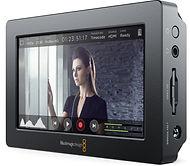 blackmagic video assist gravador - locação de monitor