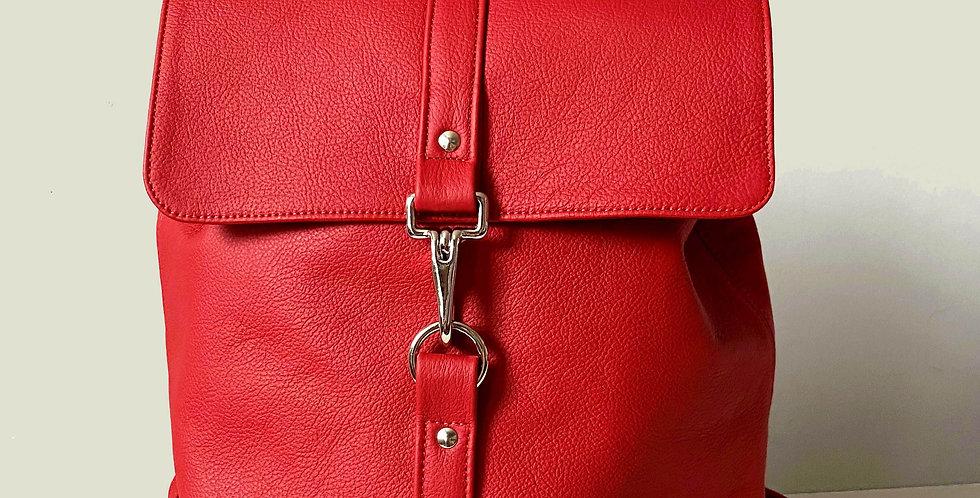 Medium Backpack - Red