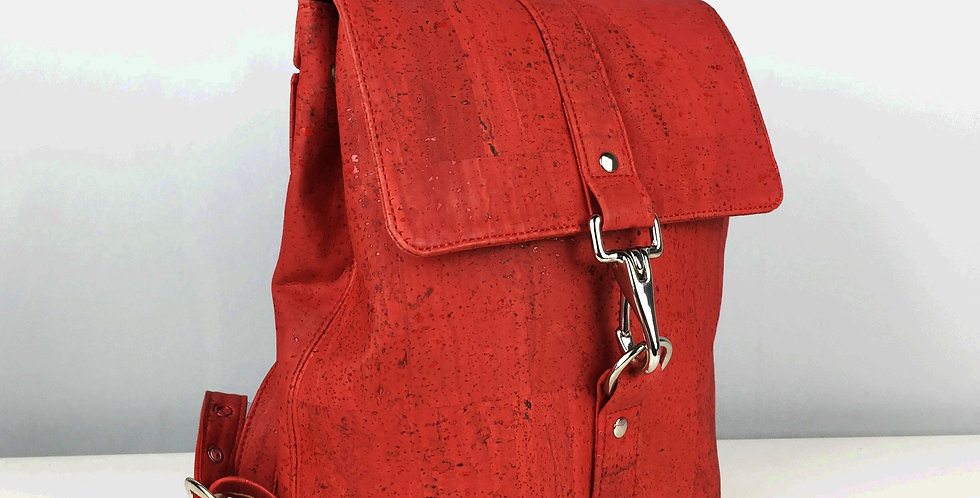 Red cork Backpack UK