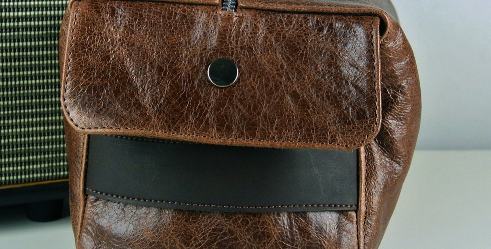 Rustic Brown Over-sized Wash Bag