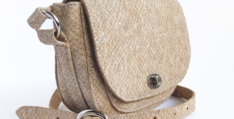 Snake Effect 'Christie' Handbag