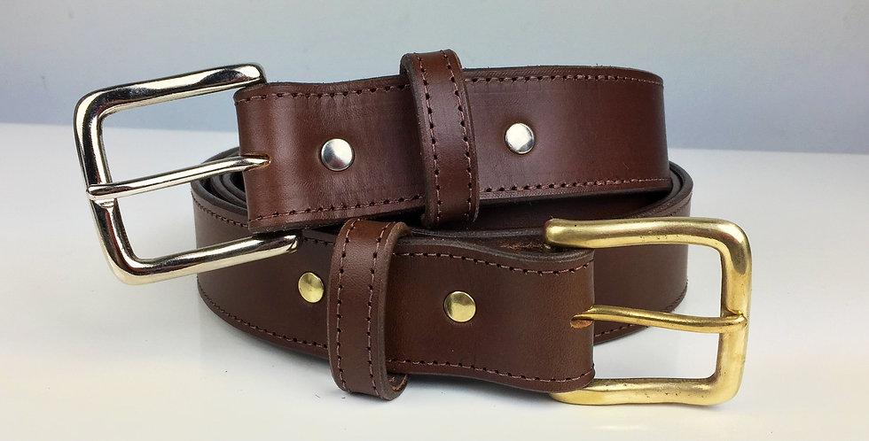 38mm Handmade leather belt