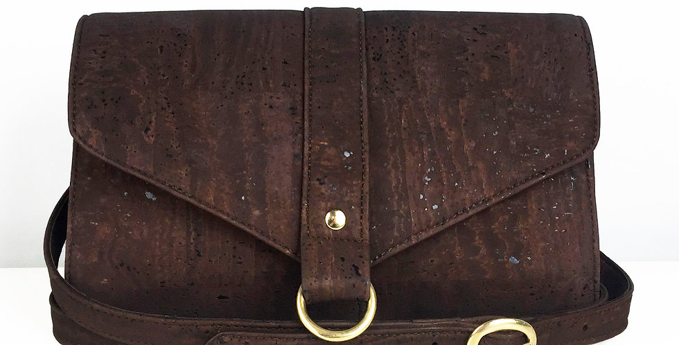 Brown Cork Handbag