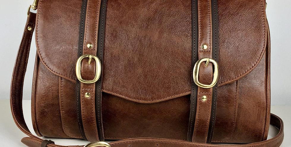 Brix Handbag- Rustic Brown