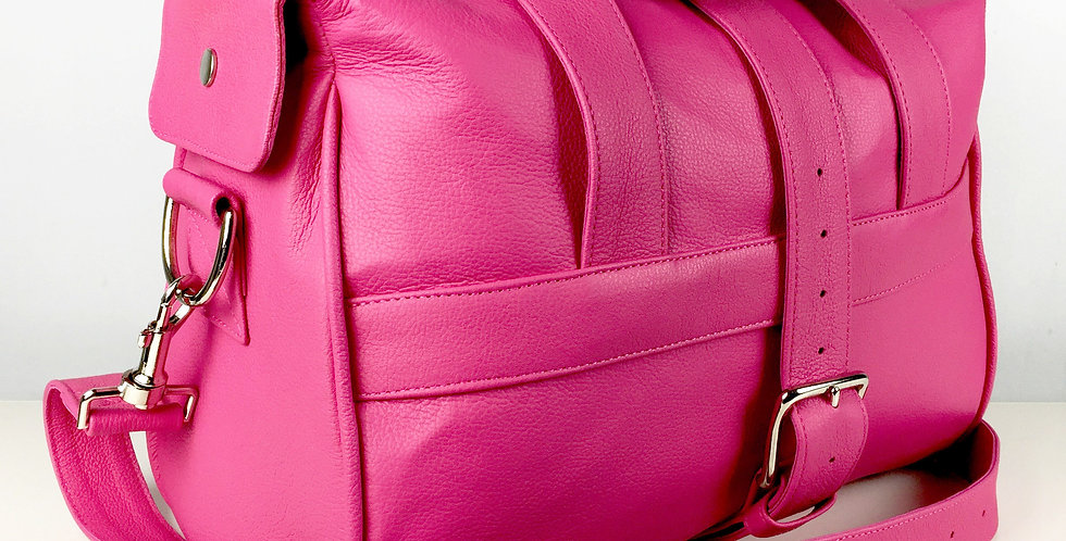 Hot Pink Overnight Bag