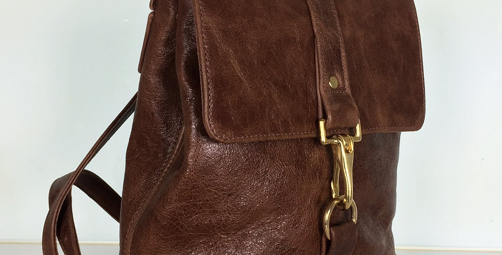 Leather bag Devon