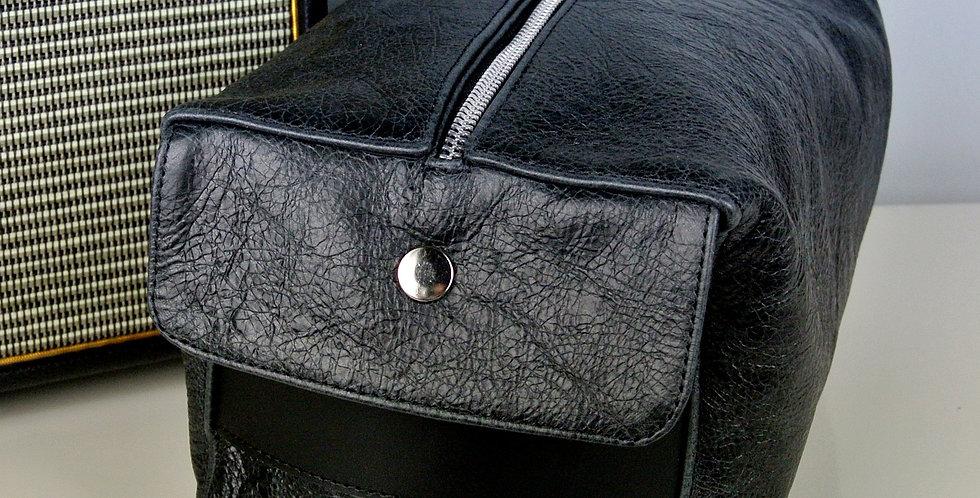 Black Over-sized Wash Bag