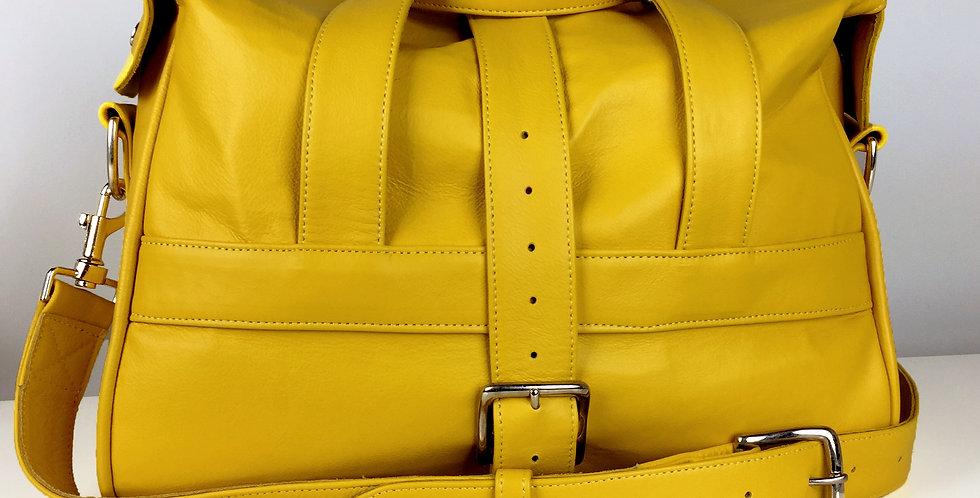 Yellow Leather Bag