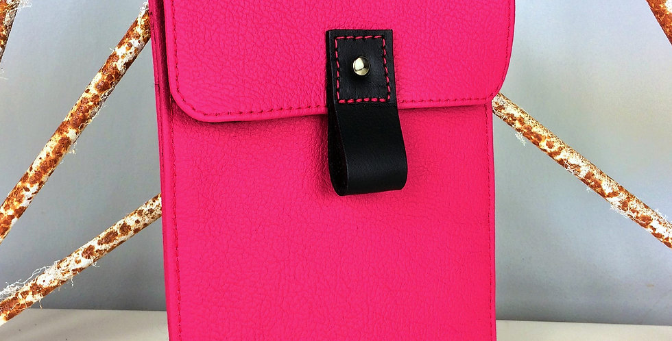 Pink Leather Kindle case