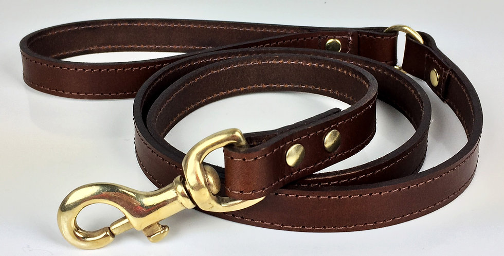 Personalised Leather Dog Lead