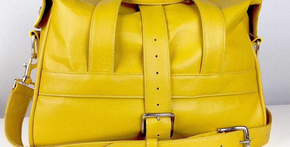 Yellow Overnight Bag