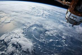 acima da Terra