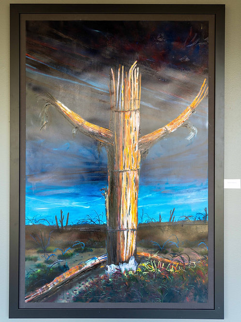 Mighty Saguaro by Megan Johnson