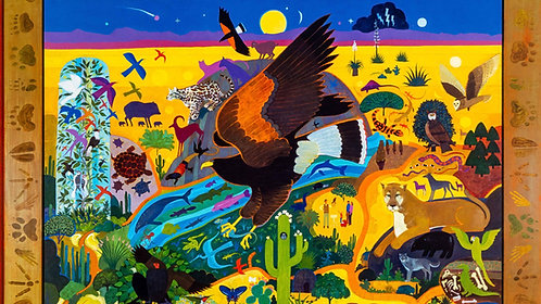The Arizona-Sonora Desert Museum Poster by Allan Mardon