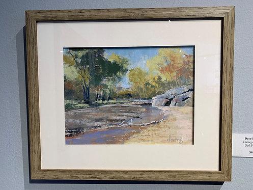 Cienega Creek by Dave Burns