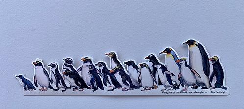 Penguins Sticker by Rachel Ivanyi