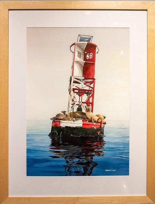 Harbor Guardians by Marilyn Wear