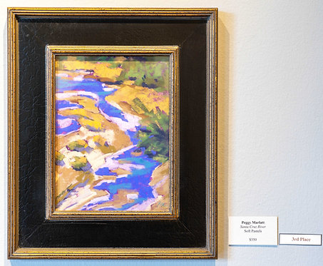 Santa Cruz River by Peggy Marlatt