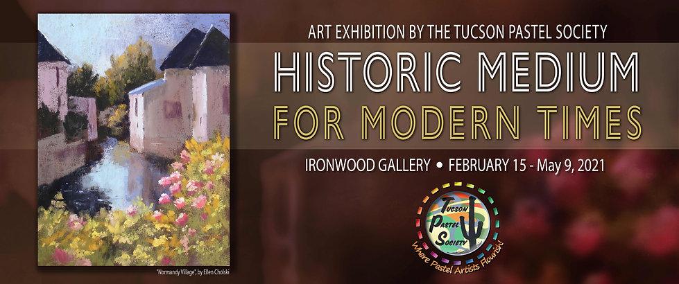 Tucson Pastel Society Exhibition at the Arizona-Sonora Desert Museum | Tucson, Arizona