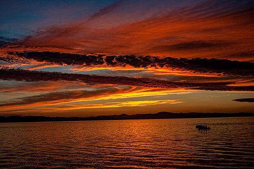 Red Sunset by Pilar Salido