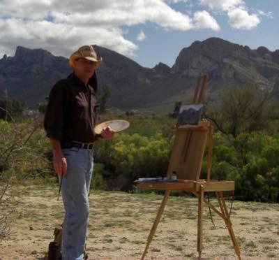 Photograph of artist TurningBear Mason