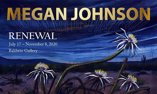 """Renewal"" desert landscape art exhibit featuring painter Megan Johnson at the Arizona-Sonora Desert Museum"