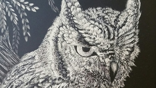 Scratching the Surface: Scratchboard Basics