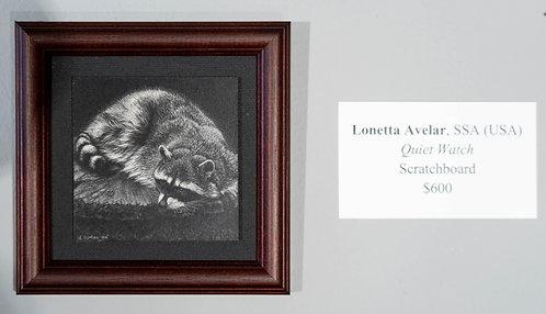 Quiet Watch by Lonetta Avelar