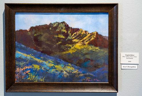 Blue/Yellow Gate's Pass by Virginia Belser