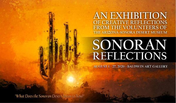 """Sonoran Reflections"" Art Exhibit Arizona-Sonora Desert Museum Volunteers"