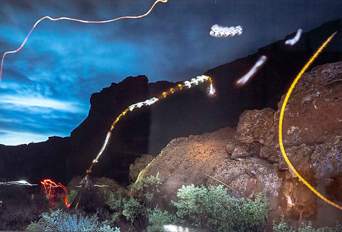 """""""Moths over Chaco"""" by Robert Renfrow"""