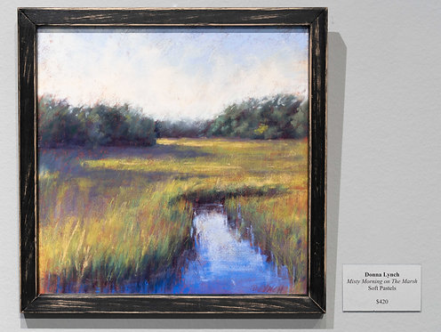 Misty Morning on the Marsh by Donna Lynch