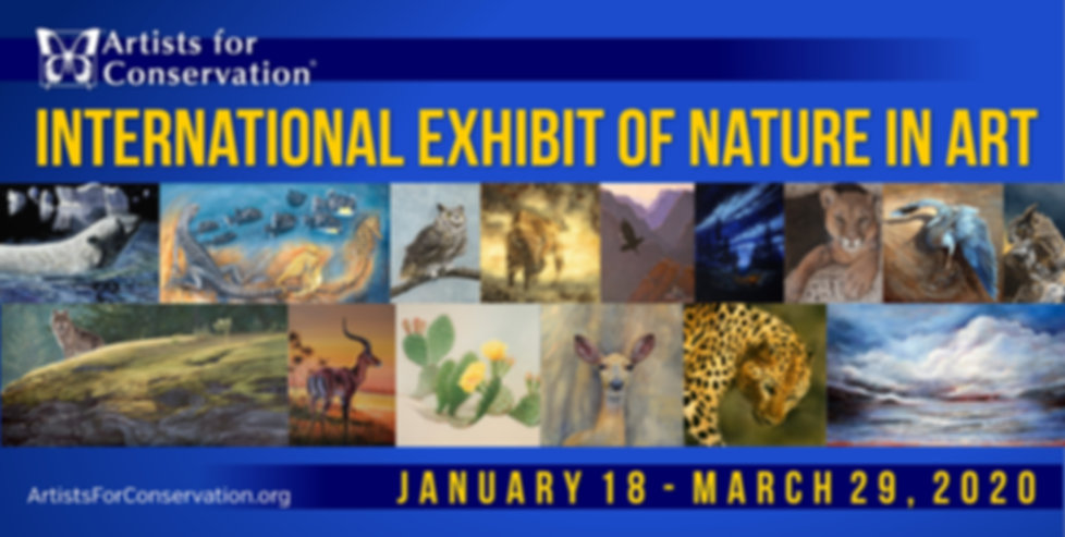 Artists for Conservation International Exhibit of Nature in Art