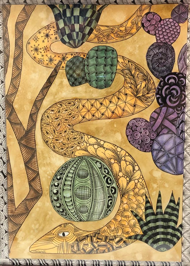 """""""Desert Zen"""" by Caryl Crowell"""