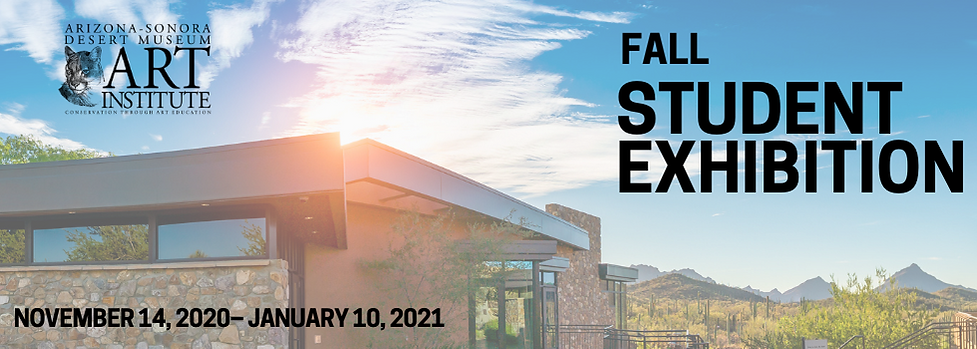 Art Institute Fall 2020 Student Exhibition Call for Entries | Submission Form | Arizona-Sonora Desert Museum