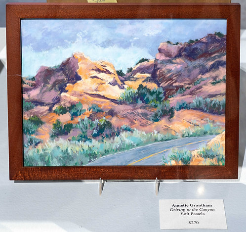 Driving to the Canyon by Annette Grantham
