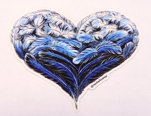 Heart Sticker by Rachel Ivanyi