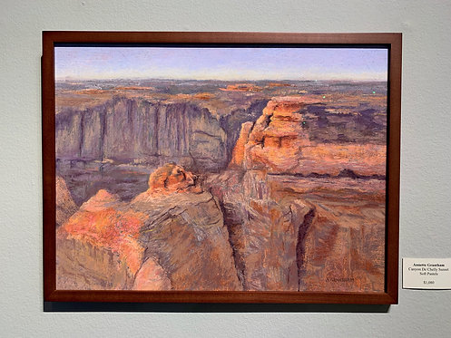 Canyon de Chelly Sunset by Annette Grantham