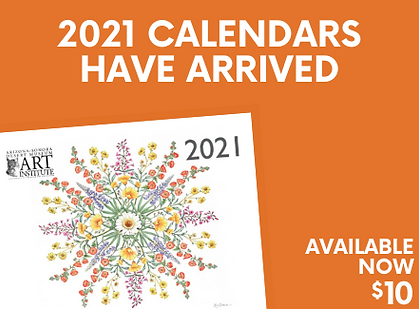 Art Institute 2021 Calendar | Arizona-Sonora Desert Museum Fundraiser
