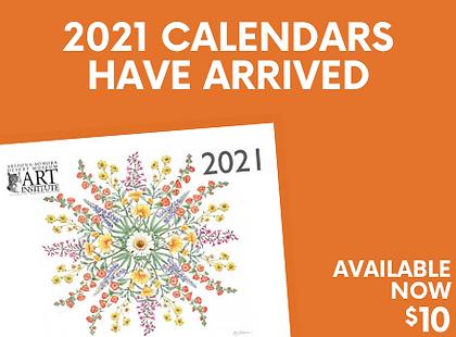 Art Institute 2021 Calendar   Arizona-Sonora Desert Museum Fundraiser
