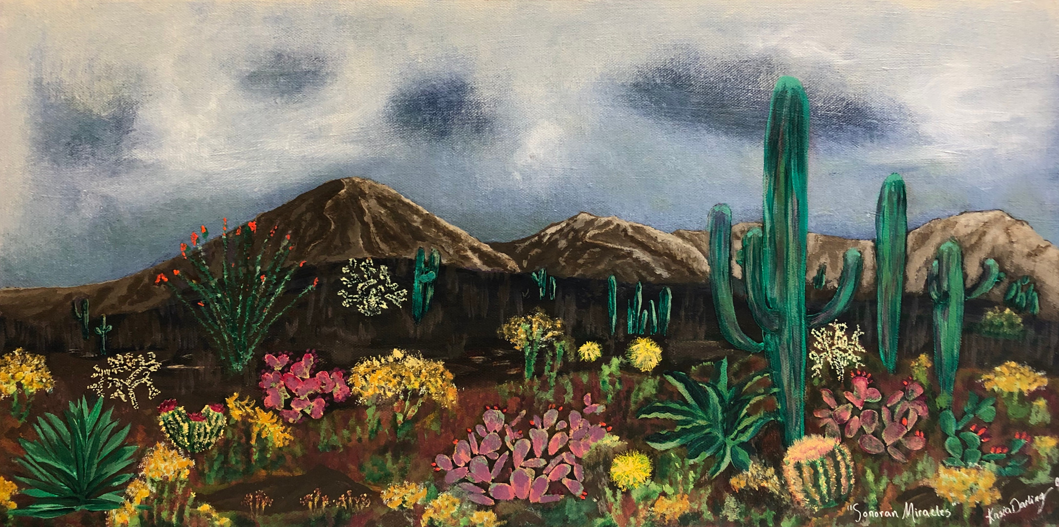 """""""Sonoran Miracles"""" by Kasia Darling"""