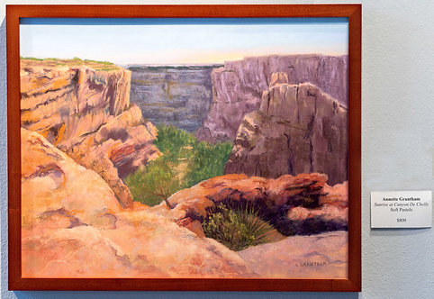 Sunrise at Canyon De Chelly by Annette Grantham