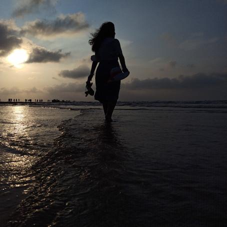 A sunset at the Beach| Saikat Biswas