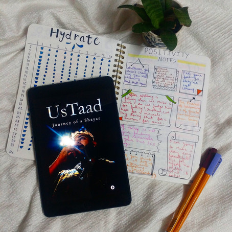 UsTaad: Journey Of A Shayar| Book Review by Priyanshi Borad